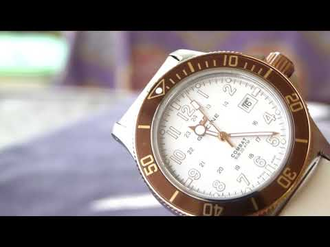 Glycine Combat Sub (GOLDEN EYE, WHITE DIAL) Unboxing and brief overview.