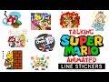 Even More Super Mario Animated Stickers | Line Sticker Showcase