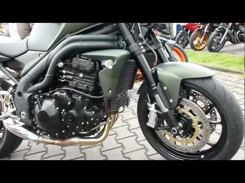 Triumph Speed Triple 1050 135 Hp Matt Khaki Green * see Playlist