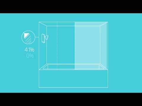 EvaDrop Smart Shower - World's first smart shower that saves water