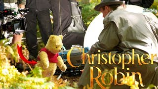 Christopher Robin Bloopers, B-Roll, & Behind the Scenes Ft. Pooh 2018