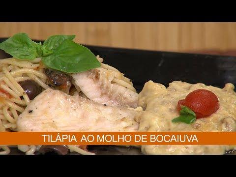 TILÁPIA AO MOLHO DE BOCAIUVA