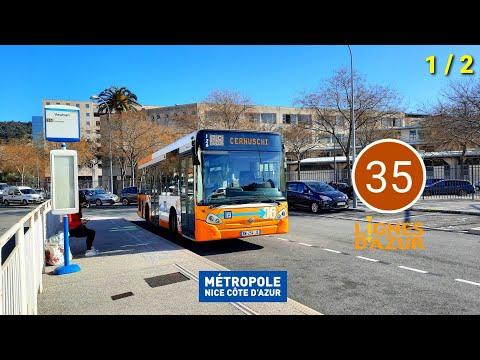Cab Ride • Nice Bus [35] Vauban ➡️ Cernuschi (Partie 1)