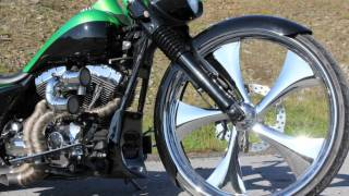 Put together some clips of a friends 2002 HD Road King for his custom exhaust business. Shot with a Canon EOD 60D with EF-S 15-85 IS lens.