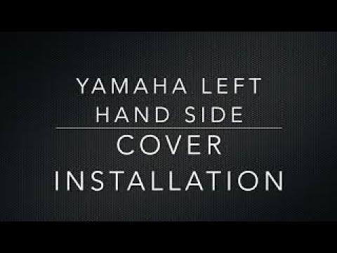 Yamaha Virago XV1000 Left Hand Side Cover Installation.