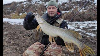 РЫБА ЕСТЬ!!! Москва-река, ЗИМНИЙ СПИННИНГ! Джиг зимой! Щука, судак, окунь, берш!