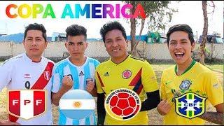 !!ESTRELLAS DE LA COPA AMÉRICA !!! Epic Reto de fútbol!! con la !!hermandad completa !!