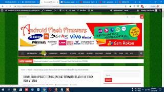 Tecno W4 Firmware Download