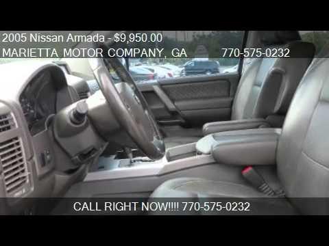 2005 Nissan Armada LE 4WD 4dr SUV for sale in Marietta, GA 3