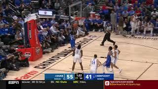 Tre Jones Highlights Duke vs Kentucky 2018.11.06