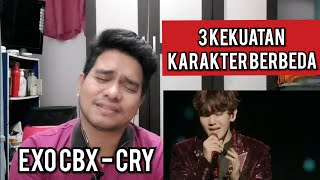 Gambar cover Guru Vocal Komentari EXO CBX - CRY (Reaction)