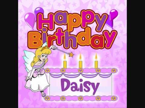 Happy Birthday Daisy (Personalized song)