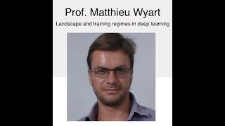 NSCS Online Seminar - Prof. Matthieu Wyart