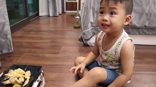 BiBo TV: Minh pig tried to eat Chinese spicy chicken legs -  bibotv  oman travel target art diy food
