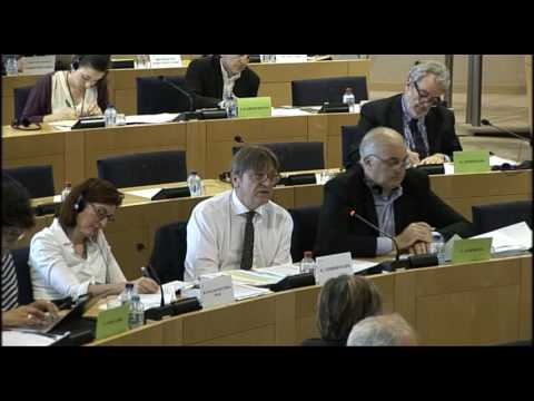 Guy Verhofstadt presents his report on future EU institutional reforms in AFCO Committee