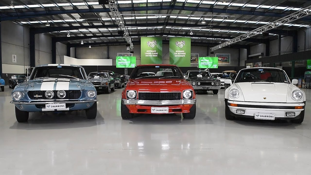 Muscle Car Trio - 2017 Shannons Melbourne Spring Classic Auction