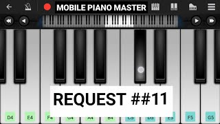 Jane Dil Me Kab Se Hai Tu Piano|Piano Keyboard|Piano Lessons|Piano Music|learn piano Online|Mobile