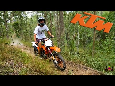 Dirt bike on Mountain Bike Trails!?