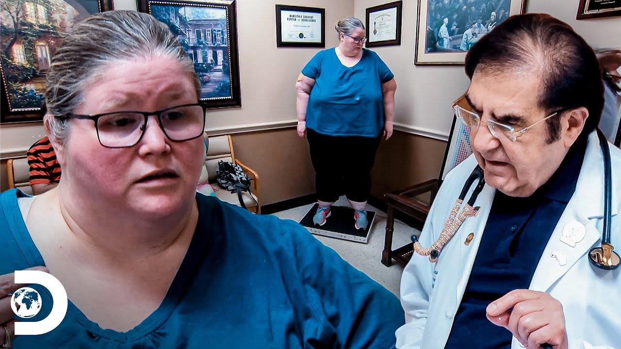 Dr. Nowzaradan orienta Bethany para ela perder 27 kg em 2 meses | Quilos Mortais | Discovery Brasil