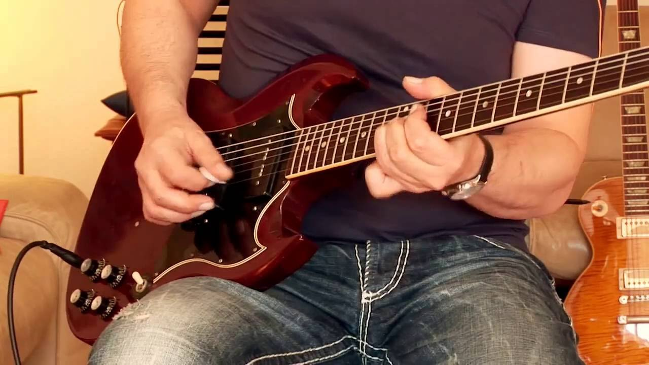 1969 gibson sg special part1 youtube