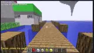 Minecraft - Seemingly random spiral makes awesome shadowy face thumbnail