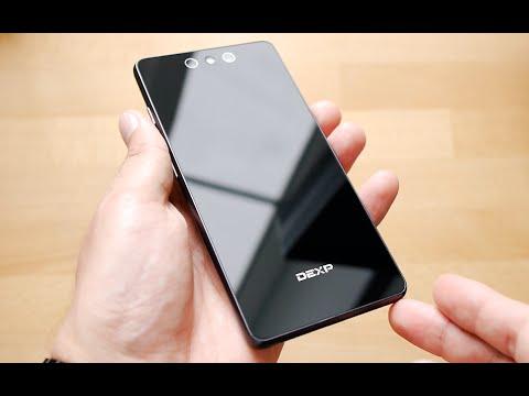 "Распаковка DEXP Ixion X355 Zenith (5.5"", 3Gb RAM, 3200mAh)"