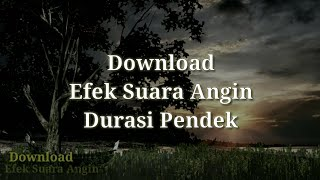 Download efek suara angin | durasi ...