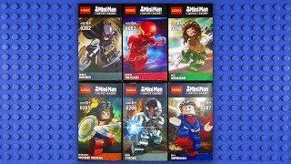 LEGO Justice League Minifigures (knock-off) Decool 0282-0287