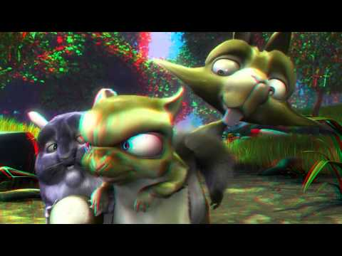 Anaglyph 3D  Animation  Cartoon Full HD Red Cyan Movie
