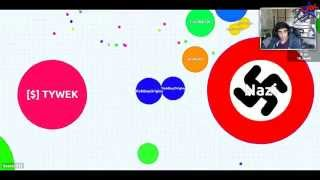 BLOB WARS #1 with Vikk, Simon & Josh (AGAR.IO / AGARIO)