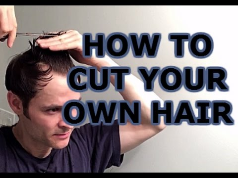 how to style male hair how to cut your own hair s hairstyle 9263 | hqdefault
