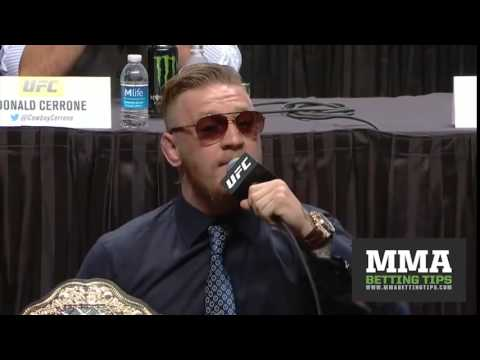 I Back It Up - Conor McGregor