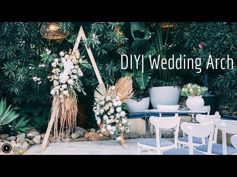 DIY | Wedding Arch from 2x4's