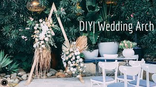 DIY | Wedding Arch from 2x4's