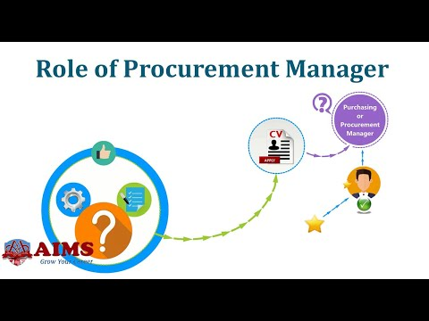 10 Key Purchasing / Procurement Manager Responsibilities | AIMS (UK)