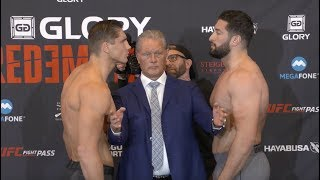 GLORY Redemption: Official Weigh-in Results and Video