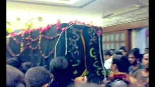 Ye Janaza Hai Ali (a.s) Ka--Shab 21st Ramzan Mehfile Shah-e-Khurasan Karachi 2010