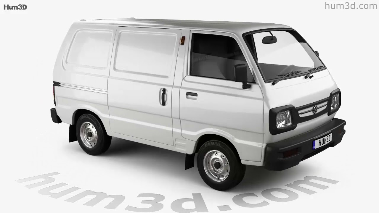 3fafe5a9990 Suzuki Omni Cargo Van 2016 3D model by Hum3D.com - YouTube