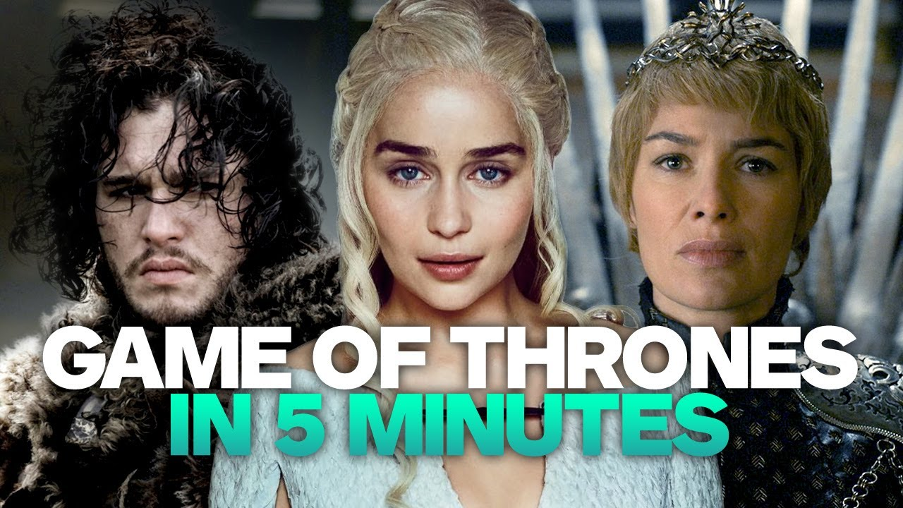 Game Of Thrones Recap In 5 Minutes Youtube