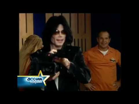 Michael Jackson's Last TV Interview: Michael and his love of cameras