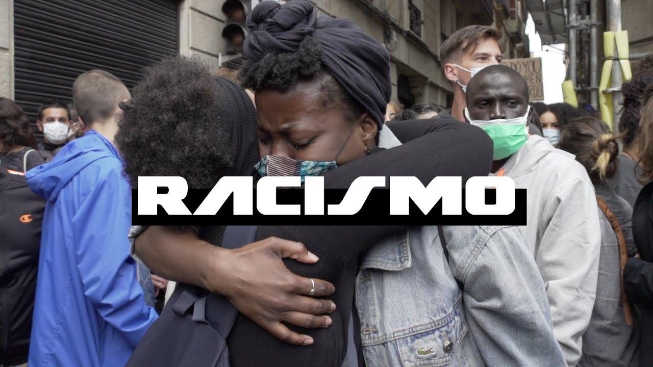 Lo que piensa la gente del RACISMO - Luc Loren Toma La Calle