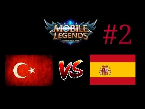 TURKEY VS SPAIN  (İspanya) / NATIONAL ARENA MATCH / MOBILE LEGENDS BANG BANG - ULUSAL ARENA MAÇI