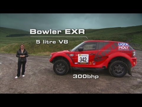 All-Terrain Supercar: the Bowler EXR - Fifth Gear