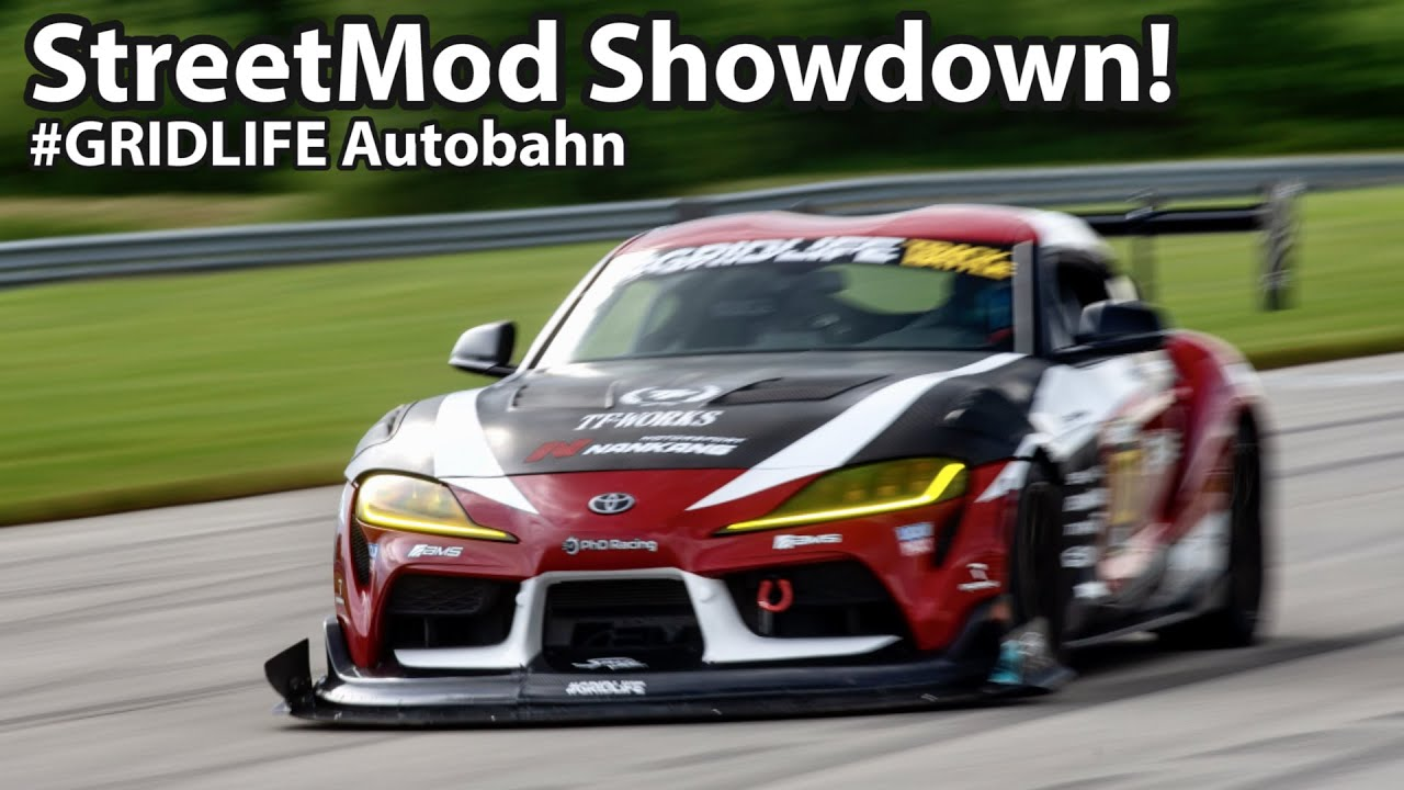 StreetMod Showdown! Time Attack Supra #Gridlife Autobahn Country Club - Project TA90 #26