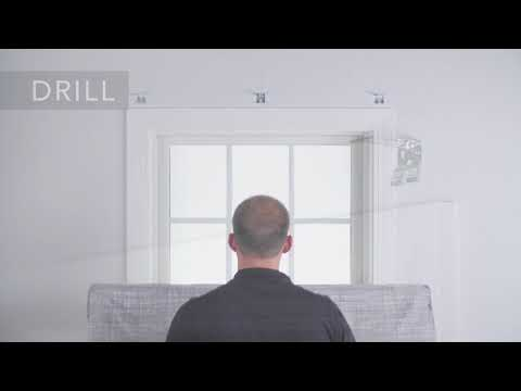 Bali Blinds | Installing and Dressing Tailored Roman Shades Outside Mount