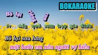 Karaoke Duyên Phận - lời 2 - Kiếm cơm người ta
