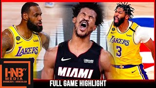 Heat vs Lakers Game 4 10.6.20 | NBA Finals | Full Highlights