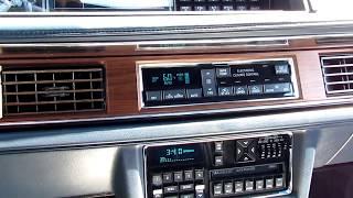 1990 Oldsmobile Ninety-Eight Regency Brougham Start up and Walk around