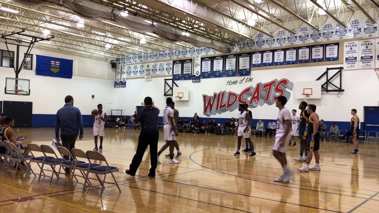 Bearspaw Christian School v  Webber Academy (Partial Footage)