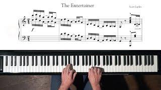 Scott Joplin The Entertainer Paul Barton, FEURICH HP piano